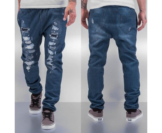 Tepláky Just Rhyse Jeans Optic Blue
