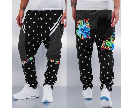 Tepláky Just Rhyse Confuse Sweat Pants Black