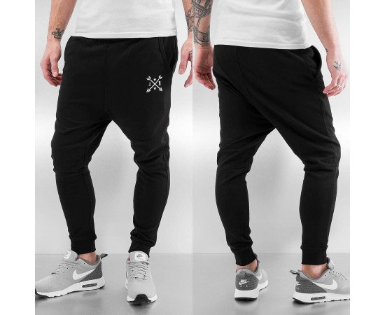 Tepláky Just Rhyse Arrow Sweat Pants Black