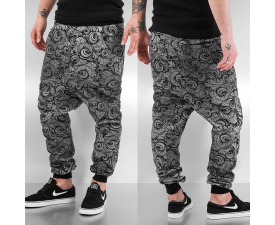 Tepláky Just Rhyse Barock Sweat Pants Black
