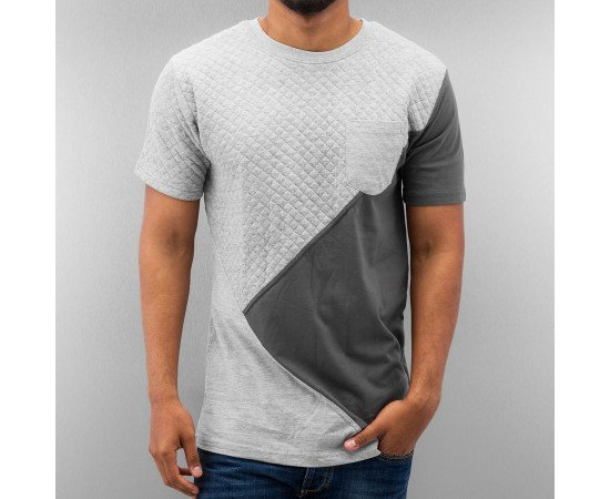 Tričko Just Rhyse Stepp T-Shirt Grey Melange