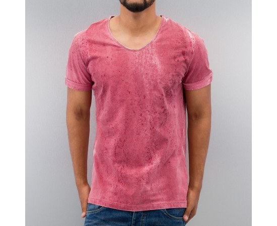 Just Rhyse Tinged T-Shirt Red