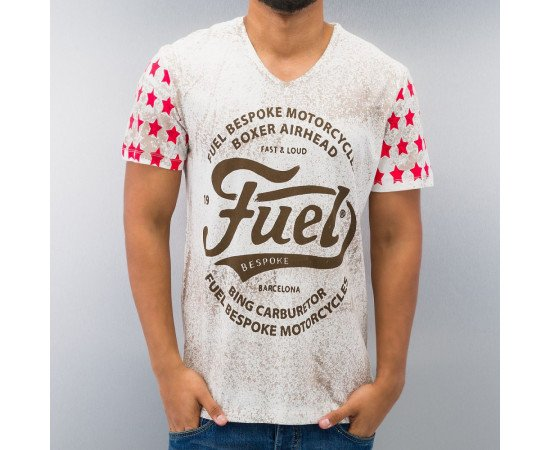 JUST RHYSE FUEL T-SHIRT BEIGE