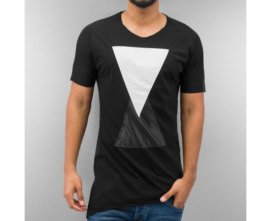 Tričko Just Rhyse Triangle T-Shirt Black