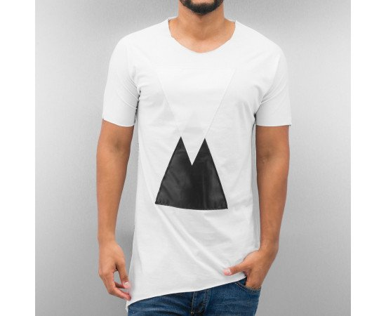 Tričko Just Rhyse Triangle T-Shirt White
