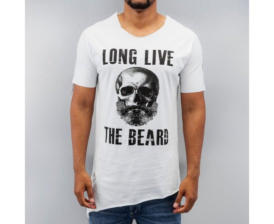 Tričko Just Rhyse The Beard T-Shirt White