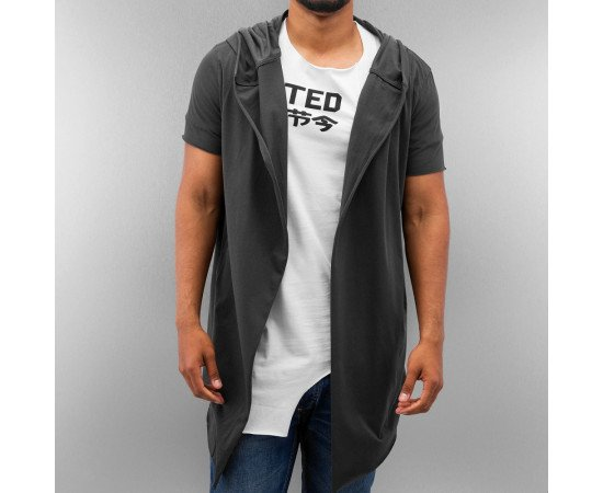 JUST RHYSE AKITO CARDIGAN ANTHRACITE