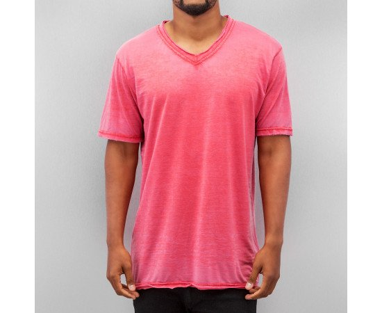 Just Rhyse Soft V-Neck T-Shirt Red