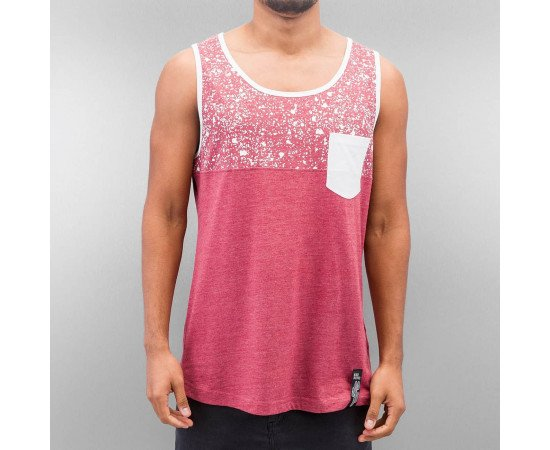Tielko Just Rhyse Fips Tank Top Burgundy