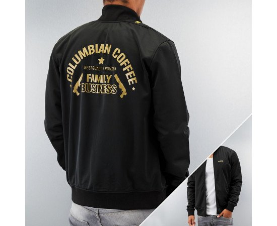 Dangerous DNGRS Columbian Coffee Track Jacket Black/Gold