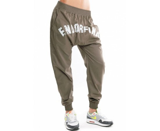 Nohavice Endorfina Sdj Jogger Military Green