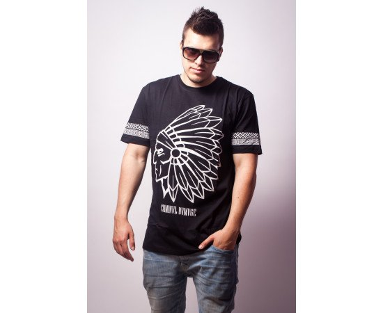 Tričko Criminal Damage T-Shirt Tomahawk Black