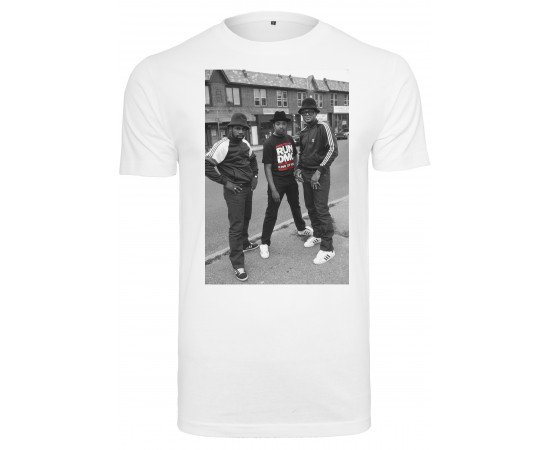 Urban Classics Run Dmc Kings Of Rock T-Shirt White