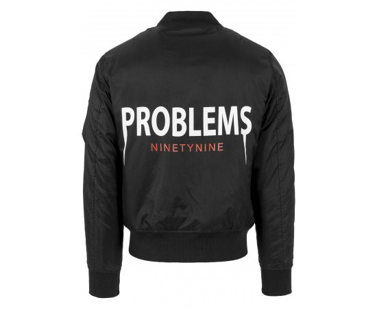 Pánska bombera 99 Problems Bomber Jacket Black