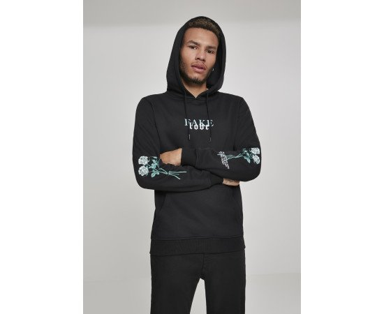 Rose Fake Love Hoody black