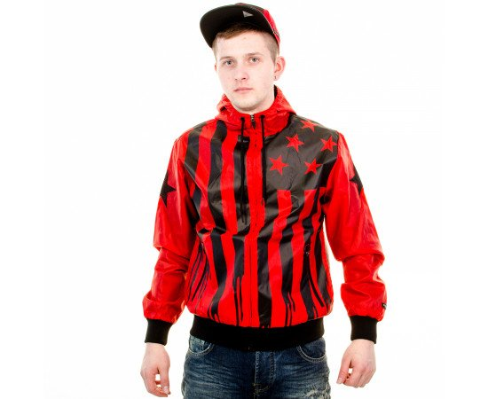 Bunda Cayler & Sons BLLB V$A Windbreaker Red Black