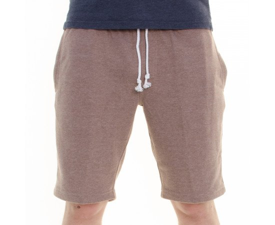 Kraťasy Reell Sweat Short Dark Sand Melange