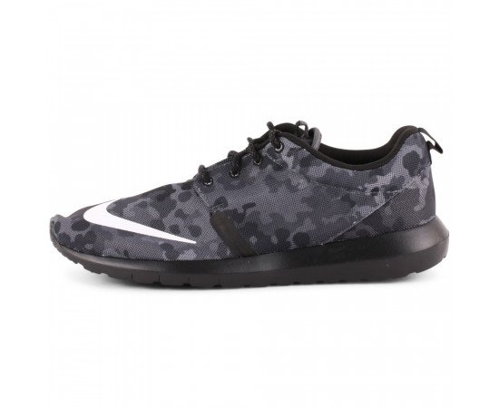 Nike Roshe Run FB Camuflage Pánske Black Grey