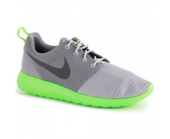 Nike Roshe Run Pánske Grey Green