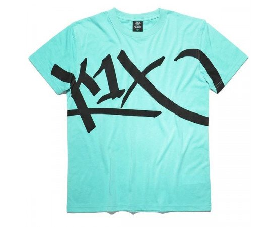 K1X Core Large Tag Mint Black