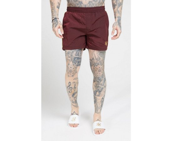 SikSilk Crushed Nylon Tape Shorts