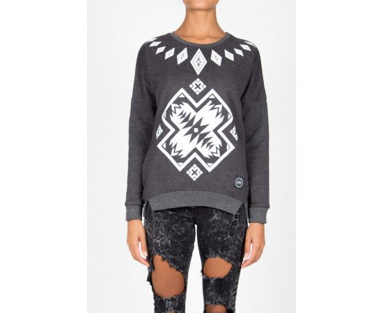 Crewneck Sixth June Sweatshirt Aztec Grey