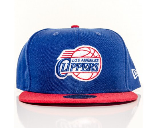 Fitted Cap New Era Los Angeles Clippers Blue Red