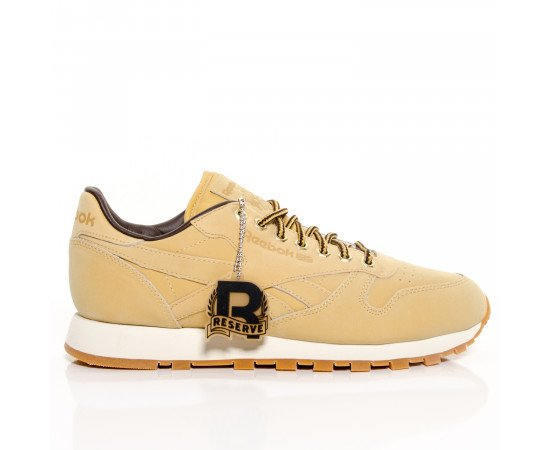 Tenisky Reebok Classic Leather 'Wheat' M49995 Pánske Brown RealPhotoNhs