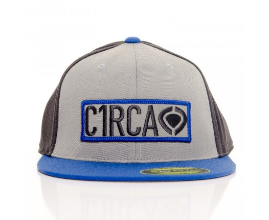 Šiltovka C1Rca Game 210 Fitted Cap Black Grey Blue