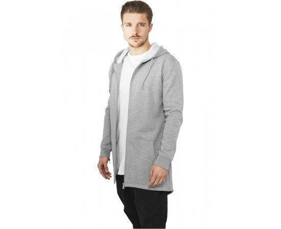 Mikina Urban Classics Sweat Parka Grey