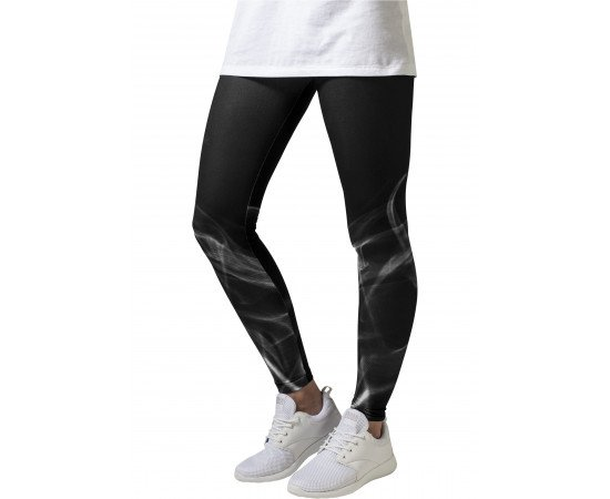 Ladies Smoke Leggings blk/wht