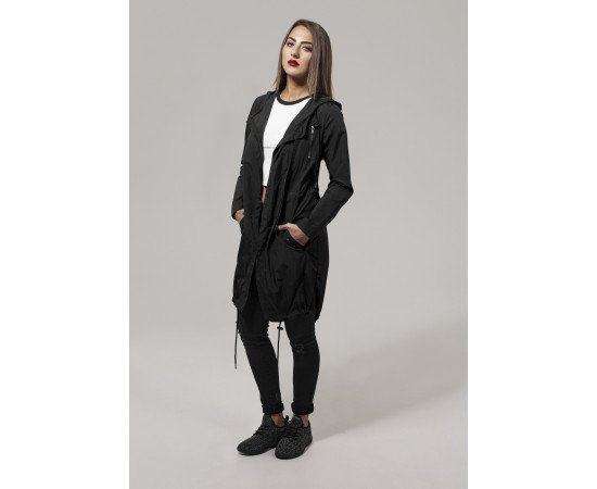 Bunda Urban Classics Ladies Asymetric Parka Black realphotonhs