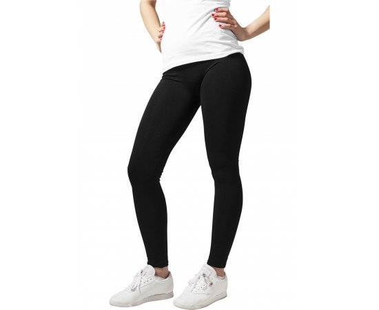 Legíny Urban Classics Ladies Pa Leggings Black