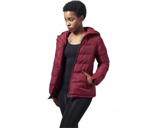 Bunda Urban Classics Ladies Bubble Burgundy