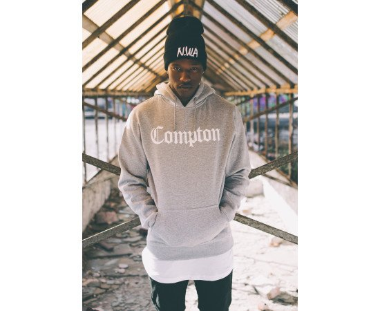 Compton Hoody heather grey