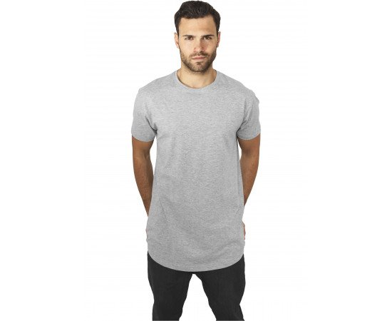 Peached Shaped ong Tee grey