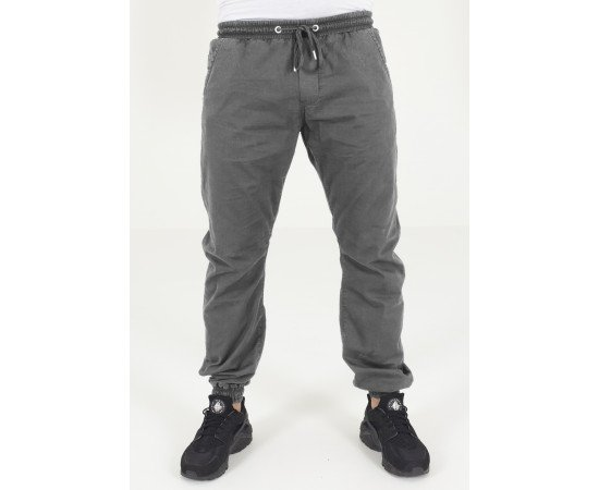 Stretch Twill Jogging Pants darkgrey