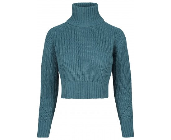 Sveter HiLo Turtleneck teal