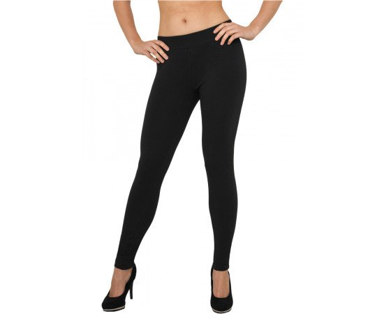 Ladies Jersey Leggings black