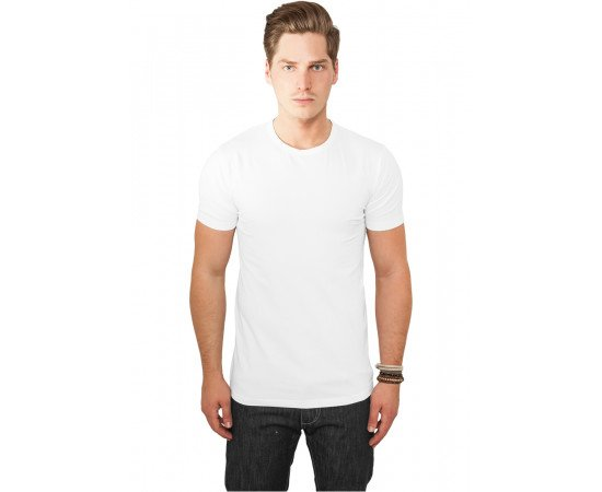 Fitted Stretch Tee white
