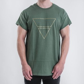 Tričko Goldie Vision Pyramyd Goldie Merch Green
