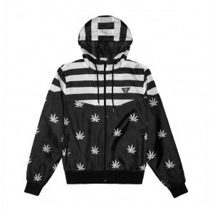 Bunda Cayler & Sons WHLB Bundz N Stripes Windbreaker Black White