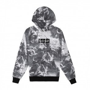 Mikina Cayler & Sons WHLB Fear God Hoody Black White