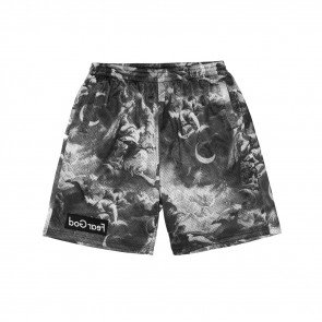 Kraťasy Cayler & Sons WHLB Fear God Mesh Shorts Grey