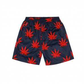 Kraťasy Cayler & Sons WHLB Big Budz Mesh Shorts Navy Red