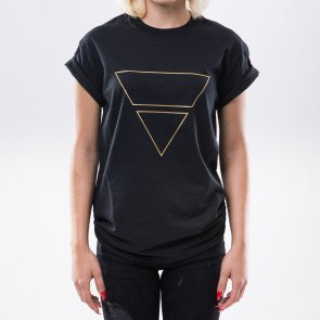 Tričko Goldie Vision Pyramyd Goldie Merch Black