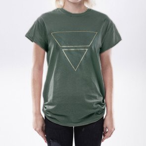 Tričko Goldie Merch Pyramyd Green