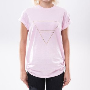 Tričko Goldie Vision Pyramyd Goldie Merch Pink