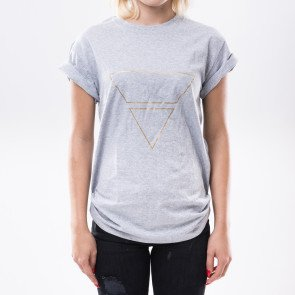 Tričko Goldie Vision Pyramyd Goldie Merch Grey