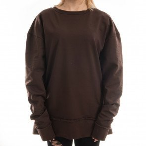 Crewneck Goldie Vision Oversized Brown